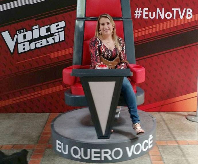eu no the voice 4 (Foto: gshow)