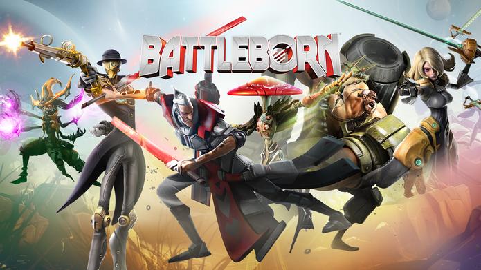 Escolha o seu herói e vá para a luta em Battleborn (Foto: Divulgação/Gearbox)