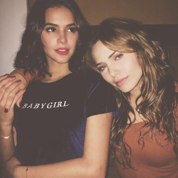 Bruna Marquezine e Letícia Colin (Foto: Reprodução/Instagram)