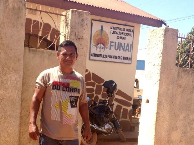 Francisco Oro Waram vai fazer mestrado no Programa de Geografia da Universidade Federal de Rondônia (Foto: Júnior Freitas/G1)