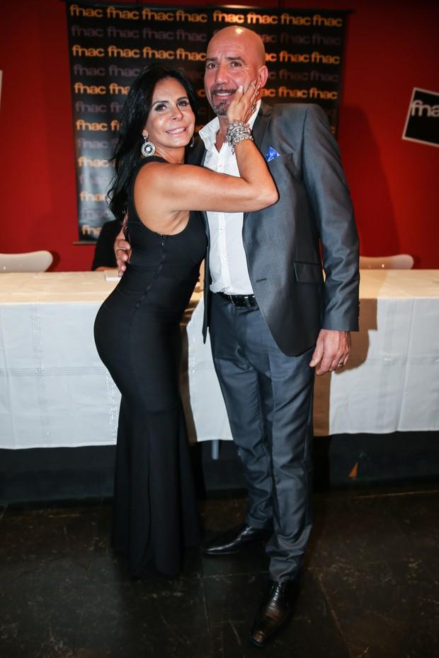 Gretchen e Carlos Marques (Foto: Manuela Scarpa/Photo Rio News)