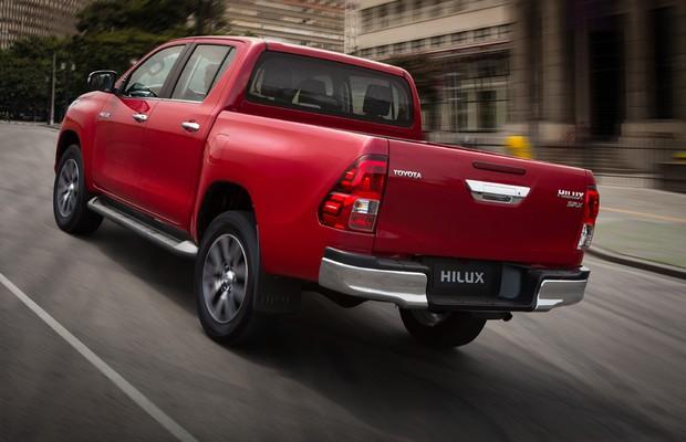 Traseira da Toyota Hilux 2016 (Foto: Divulgação)