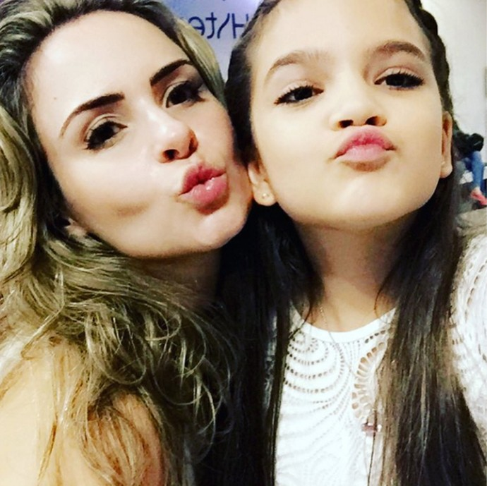 Ana Paula e Mel Maia 2 - dia 19demarço (Foto: Arquivo pessoal)