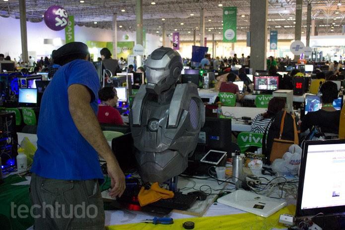 Casemod Campus Party (Foto: Rodolfo Quinafelex / TechTudo)
