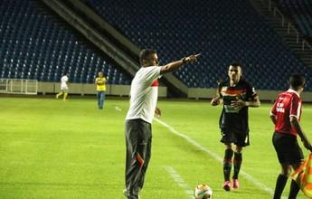 Marcelo Chamusca fala sobre metas do Sampaio e elogia atacante Edgar