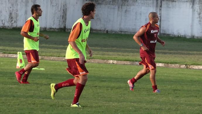 Clebinho CRB (Foto: Caio Lorena/GloboEsporte.com)