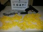 Jovem é preso com armas, drogas e munições em Cabo Frio, no RJ