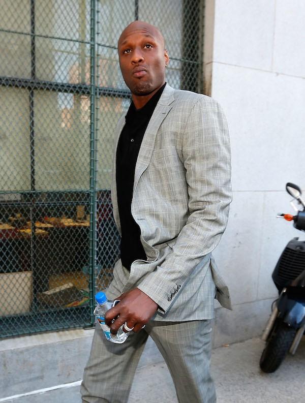 O ex-jogador de basquete Lamar Odom (Foto: Getty Images)