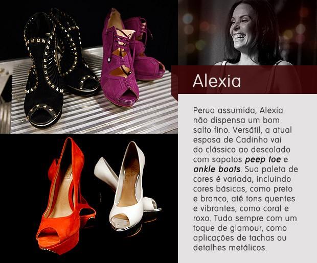 Sapatos Alexia (Foto: Avenida Brasil / TV Globo)