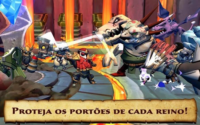 Defenders & Dragons tem gráficos incríveis e música épica (Foto: Divulgação)