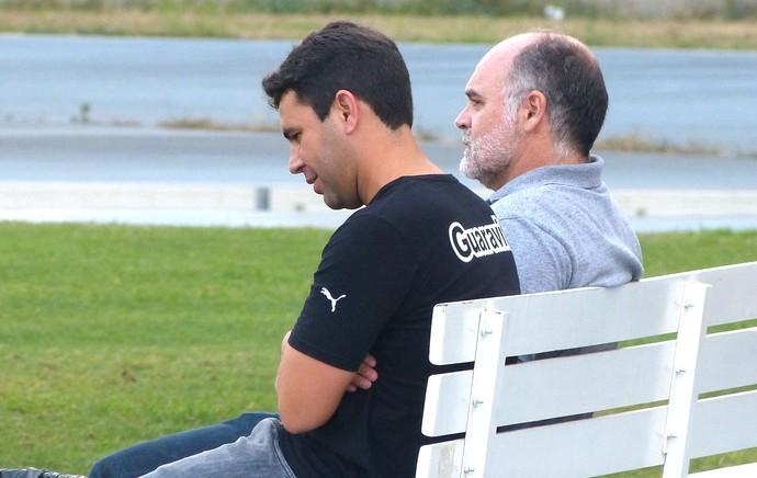 Mauricio Assumpção Treino Botafogo (Foto: Vicente Seda)