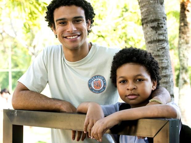 Sergio Malheiros e JP Rufino são parceiros por trás das câmeras (Foto: Raphael Dias/ TV Globo)