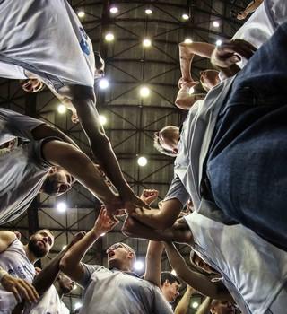 Rio Claro basquete (Foto: Luiz Pires / LNB)