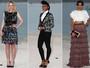Freida Pinto e Dakota Fanning vão a desfile da Chanel em Dubai
