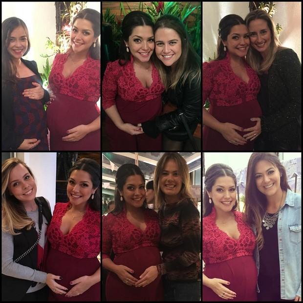 Thais Fersoza com amigas na festa (Foto: Reprodução/Instagram)