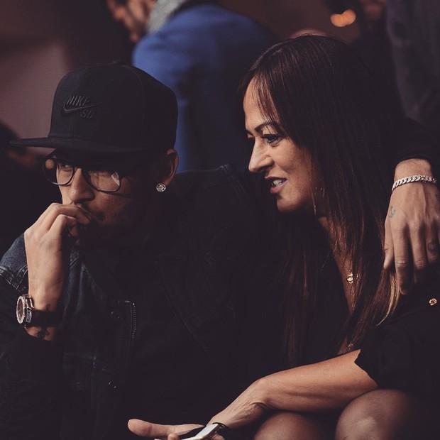 Neymar homenageia a mãe, Nadine (Foto: reprodução/instagram)