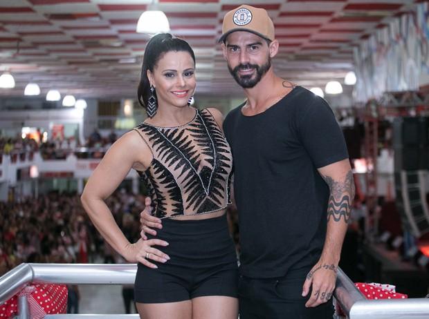 O casal Viviane Araújo e Radamés (Foto: Alex Nune/Divulgação)