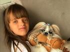 Ticiane Pinheiro se derrete pela filha, Rafinha: 'Amo absurdamente'