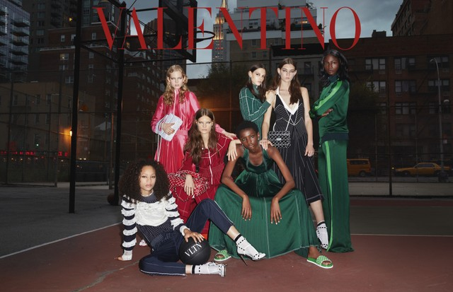 Valentino's resort campaign shot by Terry Richardson.  (Foto: Courtesy Photo)
