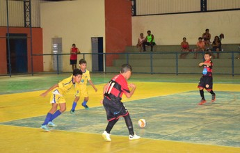 Futsal Sub-9: dois jogos fecham 1º turno do Campeonato Roraimense