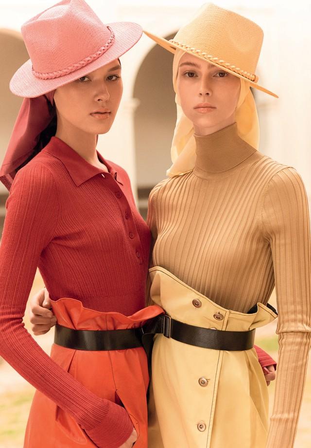 Bottega Veneta - Angelica e Lorena Maraschi usam chapéus, Chapéus 25 (Foto: Zee Nunes)