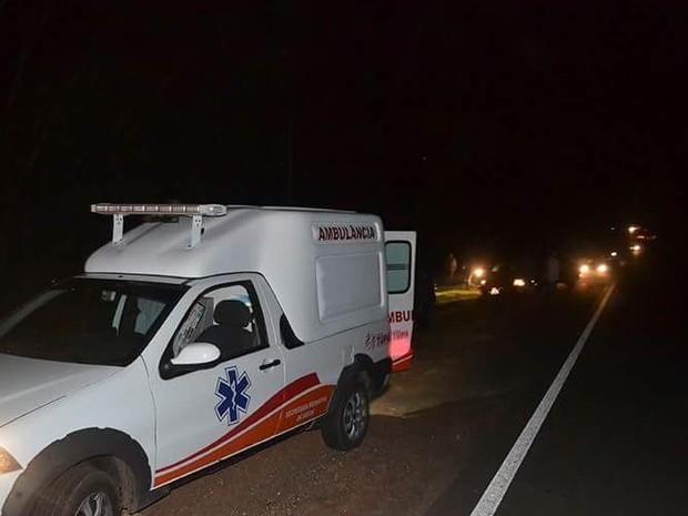 Vítimas dos acidentes foram socorridas e receberam atendimento médico (Foto: Diego Pereira/Mariane Gava/Mais Tupã/Divulgação)