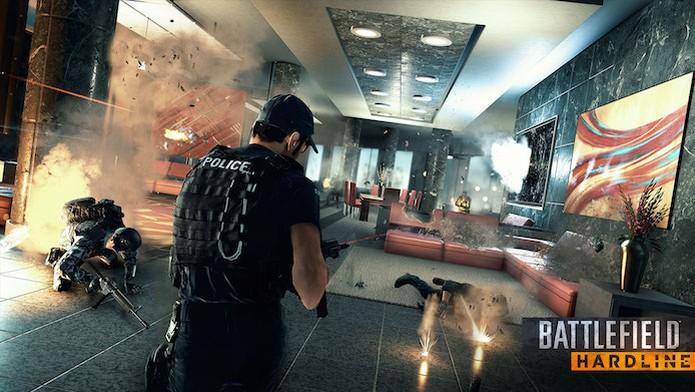 Battlefield Hardline: novo modo Crosshair é revelado (Foto: Divulgação) (Foto: Battlefield Hardline: novo modo Crosshair é revelado (Foto: Divulgação))