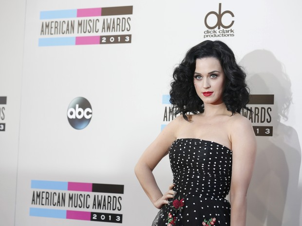 Katy Perry no American Music Awards em Los Angeles, nos Estados Unidos (Foto: Mario Anzuoni/ Reuters)