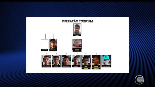Nove são presos e Polícia Civil fará reconstituição de assalto à fazenda