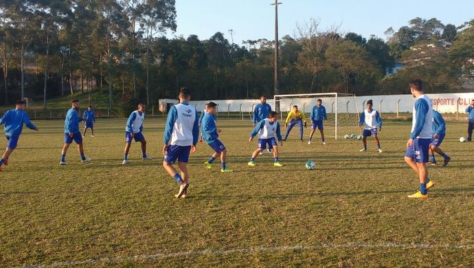 treino paraná clube criciúma (Foto: Irapitan Costa/Paraná Clube)