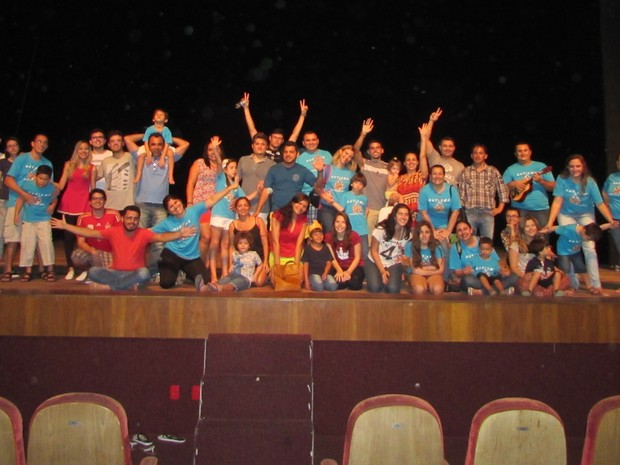 """Musical """"Azul da Cor do Mar"""" Fortaleza autismo (Foto: Divulgação/Fortaleza Azul)"""