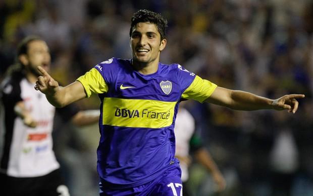 Nicolas Blandi gol Boca Juniors (Foto: AP)