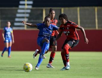 Vitória x São José Futebol Feminino (Foto: ÂNGELO PONTES/ALLSPORTS)