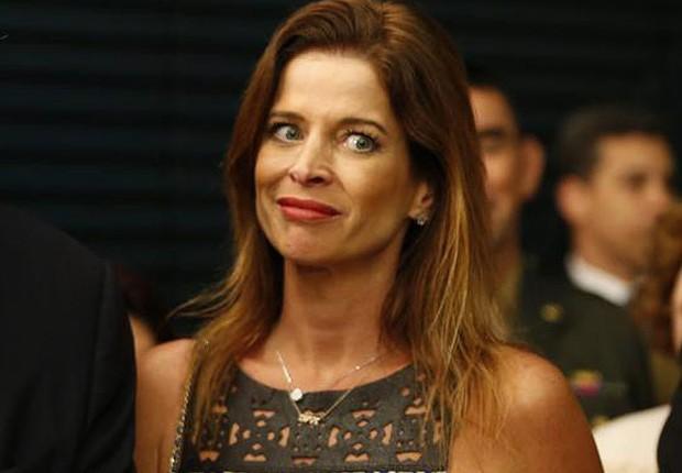 A jornalista Cláudia Cruz , mulher do deputado cassado Eduardo Cunha (Foto: Marcos Oliveira/Agência Senado)
