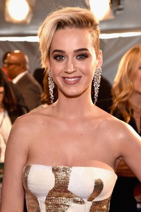 Katy Perry em prêmio de música na cidade de Inglewood, na Califórnia, nos Estados Unidos (Foto: Alberto E. Rodriguez/ Getty Images/ AFP)