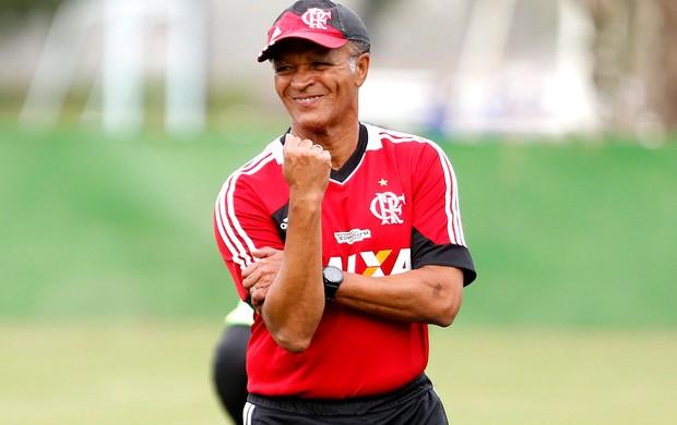 Jayme de Almeida treino Flamengo (Foto: Ivo Gonzalez / Agencia O Globo)