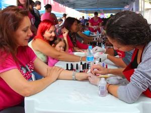 Serão 120 vagas para o curso de manicure em Itaquaquecetuba (Foto: Antônio Márcio/ Prefeitura de Itaquaquecetuba)