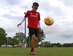 Gabriel Victor - 12 anos (Foto: Reprodução/Inter TV Cabugi)