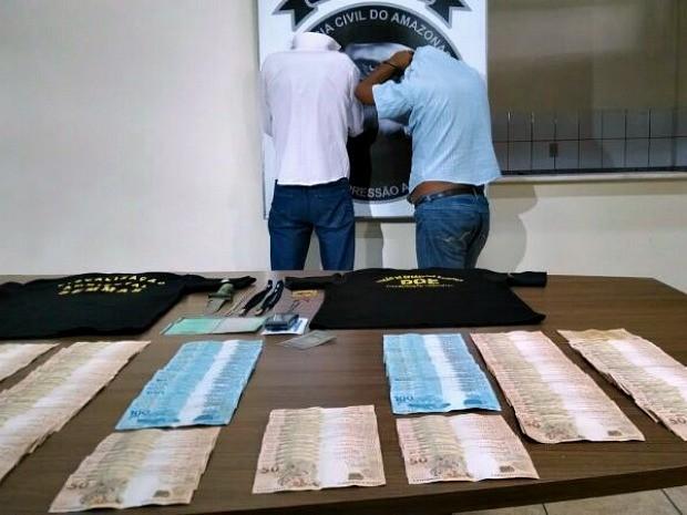 Dois fiscais serão encaminhados para a cadeia pública, em Manaus (Foto: Rômulo de Sousa/G1 AM)