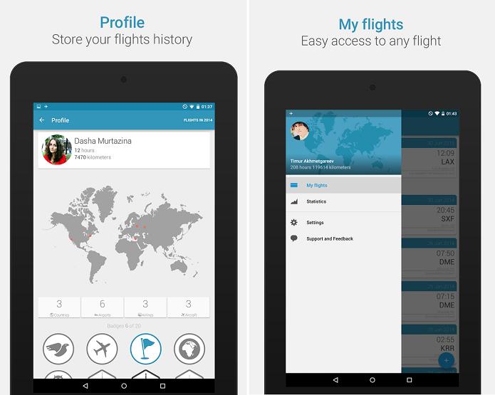 App in the Air é um aplicativo que mostra status do voo (Foto: Divulgação)