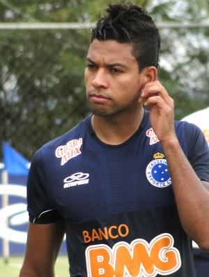 Wallyson, atacante do Cruzeiro (Foto: Tarcísio Badaró / Globoesporte.com)