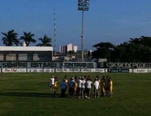 Treino Ceará (Foto: Juscelino Filho/Globoesporte.com)