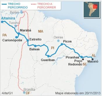 Mapa ALTAMIRA (VALE ESSE)