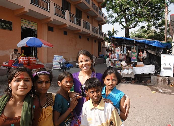 Cacau Melo visitou a Índia e fez um retiro espiritual (Foto: Arquivo Pessoal)