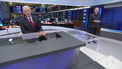 Jornal da Globo - Edição de Segunda-feira, 24/04/2017