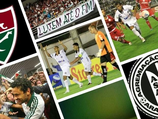 Fluminense e ASA (Foto: GLOBOESPORTE.COM)