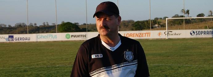 Leandro Campos, técnico do Treze (Foto: Silas Batista / Globoesporte.com/pb)