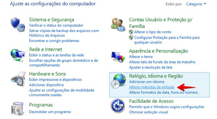Abra as configurações de idioma (Foto: Reprodução/Helito Bijora)  (Foto: Abra as configurações de idioma (Foto: Reprodução/Helito Bijora) )