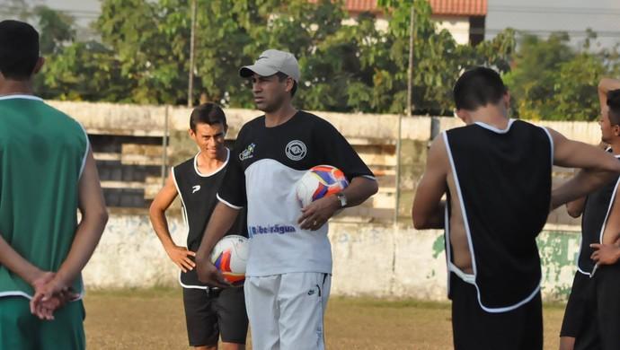 treino adesg naborzão acreano 2ª divisão técnico ico (Foto: Manoel Façanha/Arquivo pessoal)