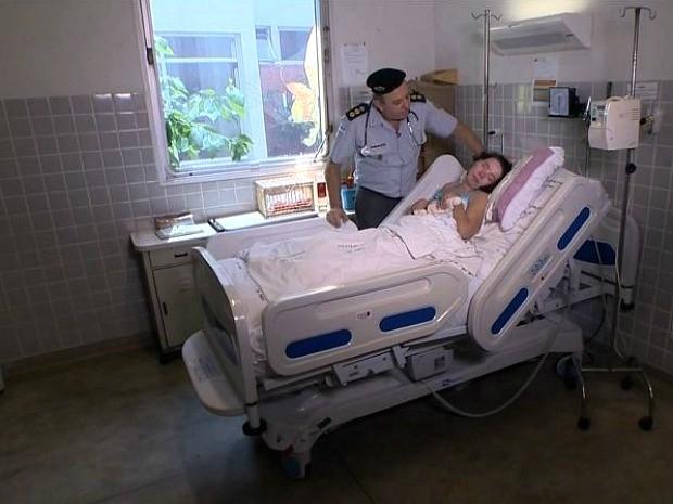 Polícia disse que paciente ainda não foi procurada por ninguém, espírito santo (Foto: Reprodução/ TV Gazeta)